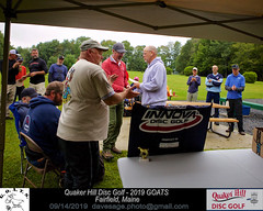 IMG_1152 (Maine Disc Golf) Tags: goats quakerhilldg fairfield maine golden oldies anhyzer tour series premier year 2019 quaker hill disc golf
