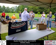 IMG_1147 (Maine Disc Golf) Tags: goats quakerhilldg fairfield maine golden oldies anhyzer tour series premier year 2019 quaker hill disc golf