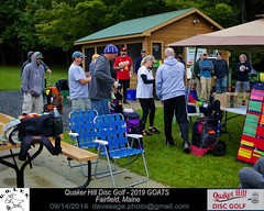 IMG_1122 (Maine Disc Golf) Tags: goats quakerhilldg fairfield maine golden oldies anhyzer tour series premier year 2019 quaker hill disc golf