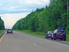 MN State Trooper on I-35 South, 17 July 2019 (photography.by.ROEVER) Tags: minnesota 2019 july july2019 vacation roadtrip 2019vacation 2019roadtrip minnesota2019roadtrip minnesota2019vacation drive driving driver driverpic ontheroad road highway i35 interstate35 interstate freeway southbound southboundi35 statepolice statetrooper minnesotastatetrooper pulledover pinecounty usa