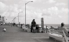 beach (bluebird87) Tags: beach boardwalk leica m6 epson 4490 kodak trix