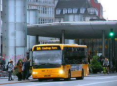 One of less than 20 Copenhagen Movia route contracted buses under 12m long seen on intergarage loan on route 13.7m specified 6A  - 10m long VDL ARRIVA 1761 at  dusk (sms88aec) Tags: one less than 20 copenhagen movia route contracted buses under 12m long seen intergarage loan 137m specified 6a 10m vdl arriva 1761 dusk