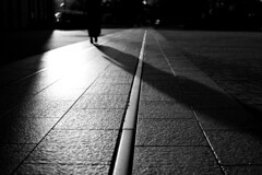 yokohama... (iknxphoto) Tags: yokohama japan night railroad railway minatomirai