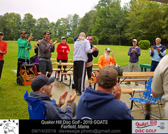 IMG_1162 (Maine Disc Golf) Tags: goats quakerhilldg fairfield maine golden oldies anhyzer tour series premier year 2019 quaker hill disc golf