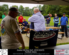 IMG_1159 (Maine Disc Golf) Tags: goats quakerhilldg fairfield maine golden oldies anhyzer tour series premier year 2019 quaker hill disc golf