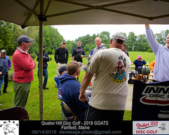 IMG_1138 (Maine Disc Golf) Tags: goats quakerhilldg fairfield maine golden oldies anhyzer tour series premier year 2019 quaker hill disc golf