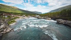 DSC07054 (Cheera studio) Tags: a7 a7ii sony canon perspective view wide norway scandinavian landscape up country moutain river road way trip cold summer village