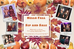 ~Rebellious Rose~ Hello Fall Sale 2019 AD WIP (~Rebellious Rose~) Tags: rebellious rose second life saturday sale blog blogger fall clearance sip wine autumn discount