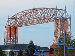 Aerial Lift Bridge, 17 July 2019 (photography.by.ROEVER) Tags: minnesota 2019 july july2019 vacation roadtrip 2019vacation 2019roadtrip minnesota2019roadtrip minnesota2019vacation duluth stlouiscounty canalpark bridge liftbridge aerialliftbridge morning beforesunrise usa