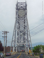 Aerial Lift Bridge from the south, 17 July 2019 (photography.by.ROEVER) Tags: minnesota 2019 july july2019 vacation roadtrip 2019vacation 2019roadtrip minnesota2019roadtrip minnesota2019vacation drive driving driver driverpic ontheroad road highway duluth stlouiscounty bridge liftbridge aerialliftbridge duluthentry duluthharbor lakesuperior greatlakes slakeavenue slakeave morning usa