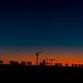 Sunrise 40 mins before The Sun Broke the Horizon in Italy ..