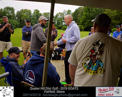 IMG_1129 (Maine Disc Golf) Tags: goats quakerhilldg fairfield maine golden oldies anhyzer tour series premier year 2019 quaker hill disc golf