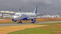 Indigo Airbus A320 Bangalore (BLR/VOBL) (Aiel) Tags: indigo airbus a320 vtifs bangalore bengaluru canon60d canon24105f4lis