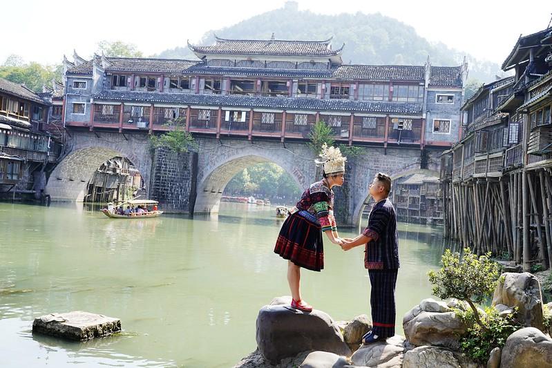 【大陸,湖南】中國最美的小城~鳳凰古城(Fenghuang Ancient City)。