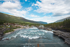 DSC07092 (Cheera studio) Tags: a7 a7ii sony canon perspective view wide norway scandinavian landscape up country moutain river road way trip cold summer village
