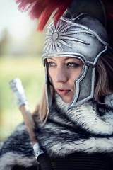 Eveline (Roy Coumans Photography) Tags: elfia haarzuilens fantasy warrior warriorgirl femalewarrior cosplay cosplaygirl roman soldier girl beauty