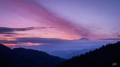 Lever du jour sur le Mont-Blanc (imagene74) Tags: colarpettaz montblanc leverdujour montagnes alpes nuages groupenuagesetciel