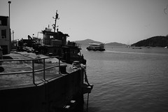 Pier, Discovery Bay, Hong Kong. by Leica M10-D, Leica Summilux 35mm F1.4 V1 Steel Rim (duncanwong) Tags: bayonet mount m rim steel v1 f14 14 35mm summilux m10d leica hong kong discovery bay pier ferry ship cargo