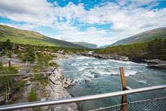 DSC07048 (Cheera studio) Tags: a7 a7ii sony canon perspective view wide norway scandinavian landscape up country moutain river road way trip cold summer village
