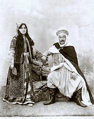 couple de riches notables en Algérie, vers 1880... Collection Reynald ARTAUD (Reynald ARTAUD) Tags: xixè siècle 1880 vers algérie couple riches notables collection reynald artaud