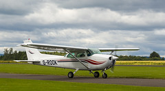 G-ROOK Cessna 172, Scone (wwshack) Tags: ce172 cessna cessna172 egpt psl perth perthkinross perthairport perthshire scone sconeairport scotland skylane grook