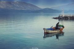 Ya Nasip... (pazartorbasi) Tags: fisherman pentax tamron1750 tamron lake egirdir turkey boat pentaxk5ii