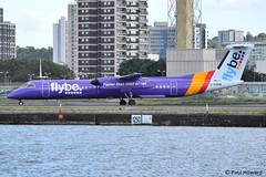 2019-08-29 LCY G-PRPM (Paul-H100) Tags: 20190829 lcy gprpm bombardier dhc8 dash 8 flybe