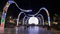 IMG-20181205-WA0005 (rugby#9) Tags: people bauble decoration christmasdecoration round giant large christmasbauble christmaslights andalucia costadelsol spain fuengirola