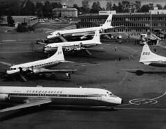 Fornebu, Oslo FBU (SAS Museum - Norway - Images not to be used withou) Tags: sas airports oslofbu 1960s dc8 dc9 cv440metropolitan aircraft oslo norway