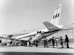 John F Kennedy International Airport (SAS Museum - Norway - Images not to be used withou) Tags: sas airports johnfkennedyintljfk 1980s dc8 newyorkjfk aircraft newyork unitedstates