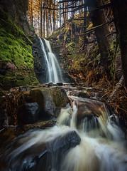 Chasing Hidden Waterfalls (peter_beagan) Tags: hidden waterfall donegal gweedore secret woods rivers trees falls ireland irish unknown no name adventure explore