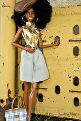 Barbie Fashionista (CAYRA FASHION DOLL) Tags: barbie fashionista doll mattel cayra pivotal dollblack afro