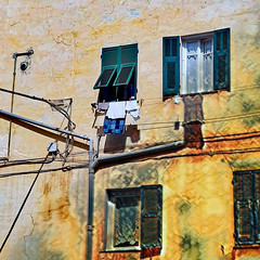 House Front (paaddor) Tags: flickr flickrphotography dailyflickr liguria italy photography houses digitalart