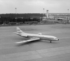 Caravelle (SAS Museum - Norway - Images not to be used withou) Tags: sasab dc8 airports stockholmarn 1970s aircraft