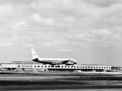 New York Airport (SAS Museum - Norway - Images not to be used withou) Tags: airports sas newyorkjfk dc8 1970s aircraft newyork unitedstates