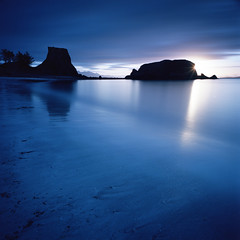 An Coroghon (Mark Rowell) Tags: ancoroghon canna innerhebrides scotland sunrise landscape kodak ektar bigstopper hasselblad 903 swc 6x6 120 mediumformat longexposure film