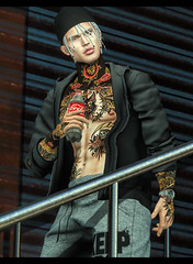 Jarvis (RyanTailor (Taking Clients)) Tags: clefdepeau gild kalback tmd themensdept skin hair shape lelutka belleza dappa junkfood kunst watch indigo pose poses bento flourish event monthly new bh9 mancave