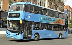 YN18SVZ Nottingham City Transport 441 (martin 65) Tags: nottingham nottinghamshire road transport public e400 enviro enviro400 city scania biogas buses bus vehicle orange green navy sky blue
