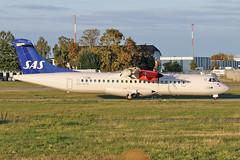 ATR 72-600 - ES-ATE - HAJ - 20.09.2019 (Matthias Schichta) Tags: haj eddv hannoverlangenhagen planespotting flugzeugbilder sas scandinavianairlines esate atr72600