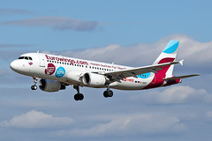 Airbus A320-214 - D-ABHC - HAJ - 20.09.2019 (1) (Matthias Schichta) Tags: haj eddv hannoverlangenhagen planespotting flugzeugbilder dabhc eurowings airbus a320200 hrs