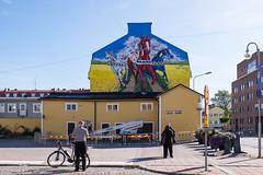 21092019-DSCF2220-2 (Ringela) Tags: dalahästar ludvika september 2019 sweden dalarna dalécarlie mural fujifilm xt1 dalecarlian horse cheval de shai dahan