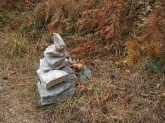 Little Cairn (fraktalisman) Tags: cairn stone stones hiking summer thassos greece