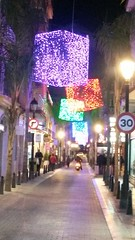 20181202_191831 (rugby#9) Tags: spain costadelsol fuengirola christmas christmasdecorations decoration andalucia squares boxes illuminations vehicles people road