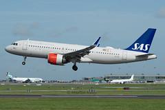 8258_EI-SII (shamrockei105) Tags: eisii airbus a320 a320neo sas scandinavian dub eidw 13092019