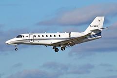 Cessna 680 Citation Sovereign - D-CAWX - HAJ - 20.09.2019 (Matthias Schichta) Tags: haj eddv hannoverlangenhagen planespotting flugzeugbilder