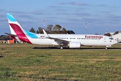 Boeing 737-86J8WL) - D-ABMV - HAJ - 20.09.2019(1) (Matthias Schichta) Tags: haj eddv hannoverlangenhagen planespotting flugzeugbilder eurowings boeing b737800 dabmv