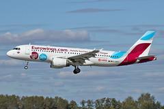 Airbus A320-214 - D-ABHC - HAJ - 20.09.2019 (2) (Matthias Schichta) Tags: haj eddv hannoverlangenhagen planespotting flugzeugbilder dabhc eurowings airbus a320200 hrs