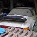 Abandoned Porsche car at Hatfield Broad Oak Essex England