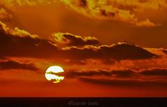 il cielo prese fuoco / the sky caught fire (Eugenio GV Costa) Tags: cielo fuoco sky fire tramonto sunset sun nuvole clouds