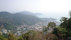 Phuket from the viewpoint (Sylar8travel) Tags: travel travelphotography thailand phuket viewpoint view sea andamansea water buildings building mountain mountains